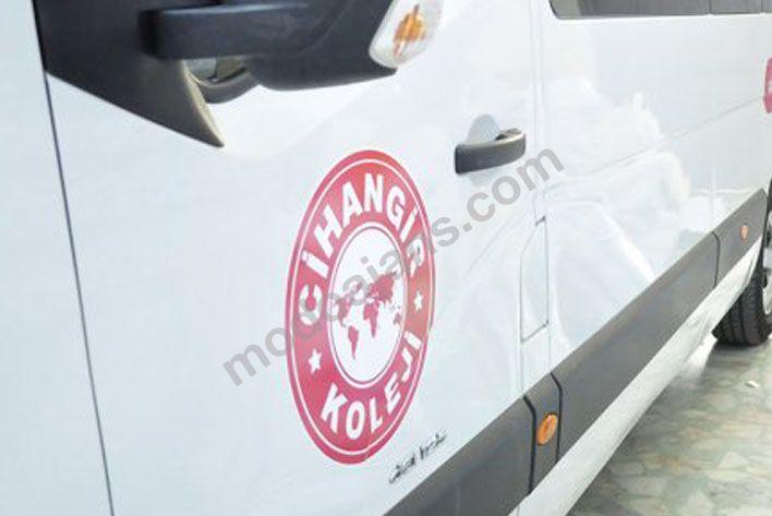 Araçlar İçin Kapı Logo Etiket