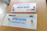 Ofis Mimari Yön Kapı İsimlikleri
