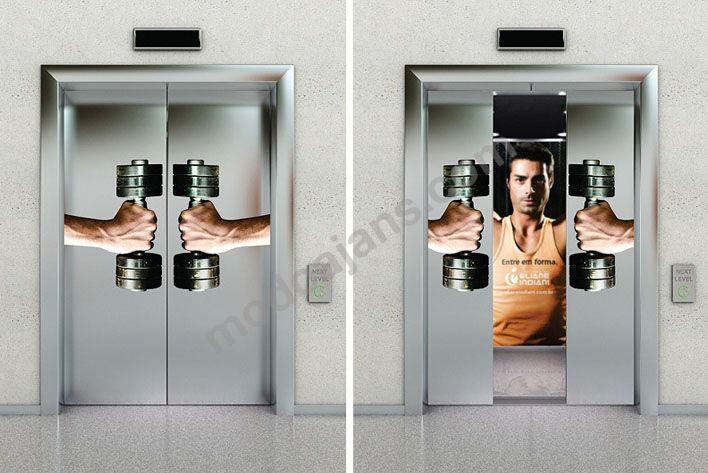 Asansör Kapısı Görsel Uygulama
