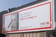 İstoç Hsbc Bankası Yan Duvar Tabelası