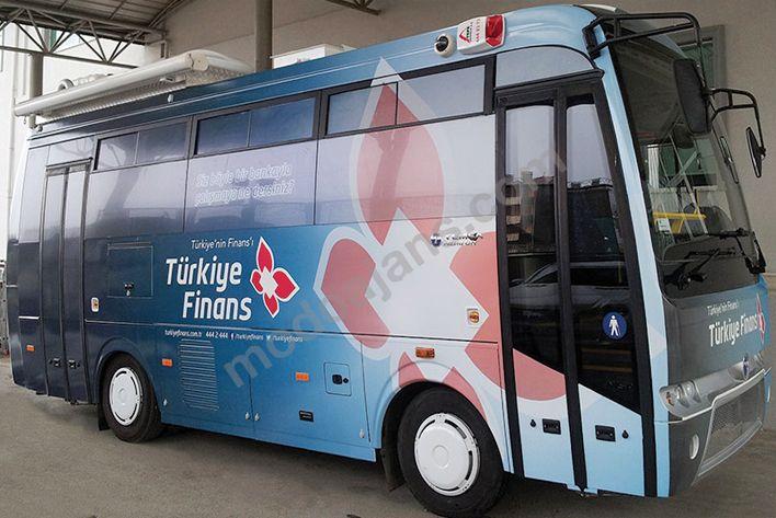 Türkiye Finans Minitur Araç Gİydirme
