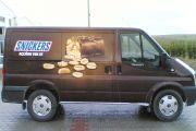 Snıckers Ford Transit Araç Kaplama