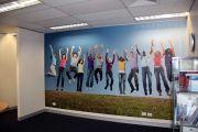 Şirket İç Mekan Duvar Görsel Baskı