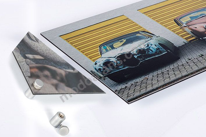 Alüminyum Dekoratif Vidalı Tablo Üretimi