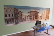 Ofis Duvarlarına Görsel Manzara Baskı