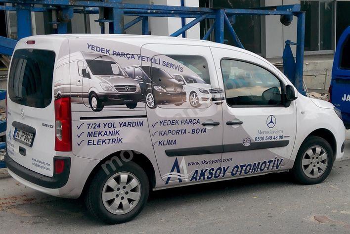 Mercedes Benz Araç Giydirme