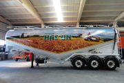Gıda Tanker Araç Dorse Giydirmeleri