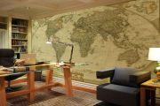 Özel Ofis Duvar Harita İmalatı