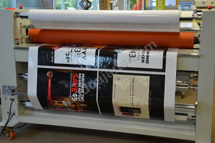 Duvar Afişlerine, Poster Kagıtlarına Laminasyon