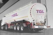 Lojistik Firmaları Kamyon Tanker Üzeri Etiket Logo