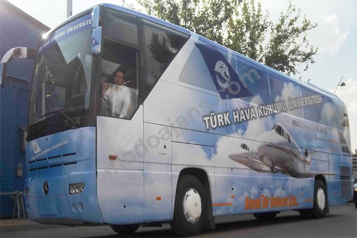 Otobüs Reklam Giydirmeleri