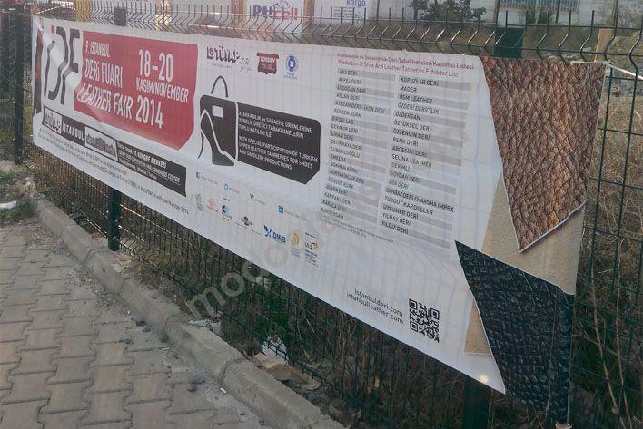 İkitelli Başakşehir Sopalı Branda Afiş Baskı