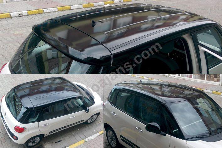 Fiat Araç Tavan Parlak Siyah Kaplama