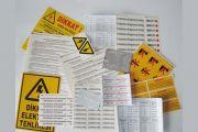 İkitelli Yapıştırmalı Uyarı Etiketleri