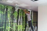 Tekstilkent Ofis Cam Filmi Baskı