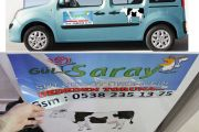 Araç Magnet Etiket Logo Baskı Başakşehir