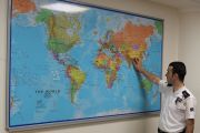 Ofis ve Toplantı Odası Duvar  Dünya Haritası