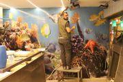 Mecidiyeköy Şişli Balık Market Duvar Kagit Baskıları