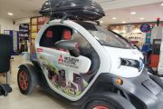 Elektirikli Araç reklam  giydirmesi